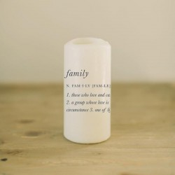 Family Definition Candle