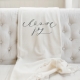 Choose Joy Throw Blanket