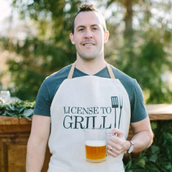 License To Grill Men's Apron