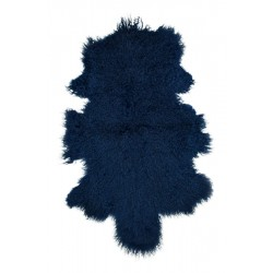 Nautical Blue Tibetan Lamb - Pelt
