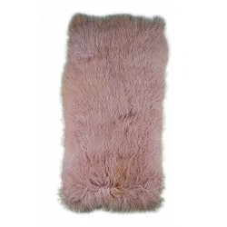 Blush Tibetan Lamb - Throw