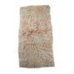 Blush Tipped Tibetan Lamb - Throw