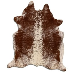 Brown And White S&P Cowhide
