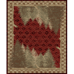 Forest Red Rugs