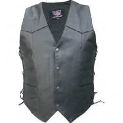 MEN'S BASIC SIDE LACED VEST- AL2202