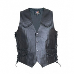 MEN'S BRAIDED SIDE LACED VEST- AL2205