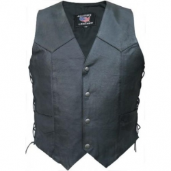 MEN'S BASIC SIDE LACED VEST- AL2213
