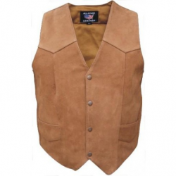 Men's brown vest- AL2216
