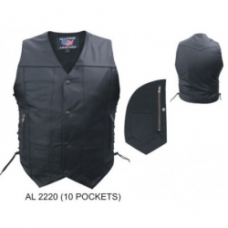 MEN'S 10 POCKET VEST- AL2220