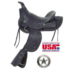 Little Britches by American Saddlery Jet Black