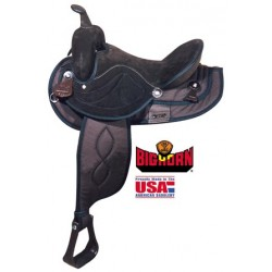 "Big Horn Brown saddle in seats 12"" through 17"""