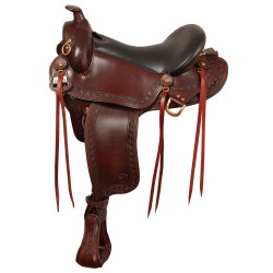 Big Horn Western Gaited Sil Cush Saddle Wide tree - A01686