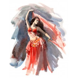 Belly Dancer Gallery Wrap