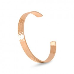 9.9mm Hammered Solid Copper Cuff