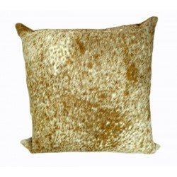 Cowhide Pillows - Brown and White Salt and Pepper 2