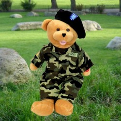 "American Hero Army Bear -  ""The Army Goes Rolling Along"".℗"