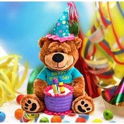 Brownie The Happy Birthday Bear 15""