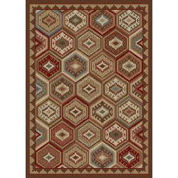 Lodge Quilt Brown