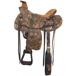 The American Saddlery Wade Camo No. 129