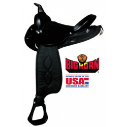 Big Horn Synthetic Nylon Trail Saddle- A00103
