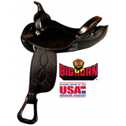 Big Horn Synthetic Nylon Trail Saddle- A00104