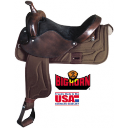 Big Horn synthetic saddle-A00168