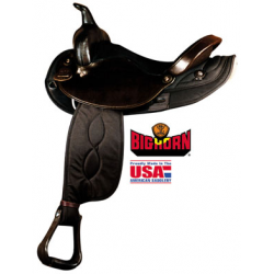 Big Horn Synthetic Saddle-A00250