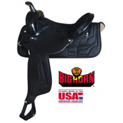 Big Horn synthetic saddle-A00267