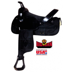 Big Horn Synthetic Saddle -A00269