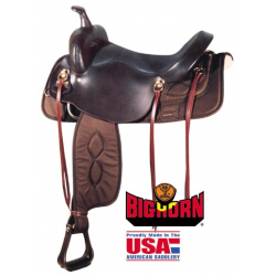 Big Horn synthetic Draft saddle-A00294