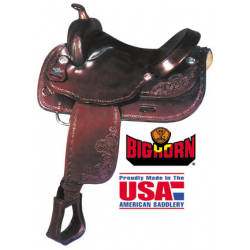 Big Horn Haflinger Saddle-A01681