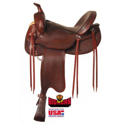 Big Horn Evolution Trail Saddle- A01697