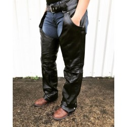 Jean style pocket chap by Allstate Leather