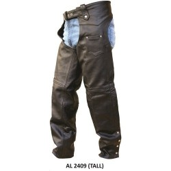 Tall plain chap by Allstate Leather