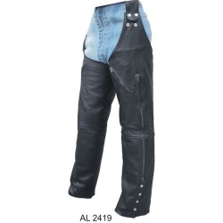 Leg warmers chaps by Allstate Leather