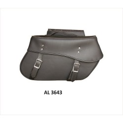 Large throw-over PVC Saddle Bag by Allstate Leather