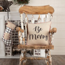 AMORY BE MERRY PILLOW 18X18