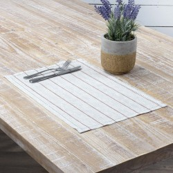 CHARLEY RUST PLACEMAT SET OF 6 12X18