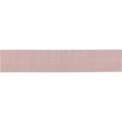 AUDREY RED RIBBED RUNNER
