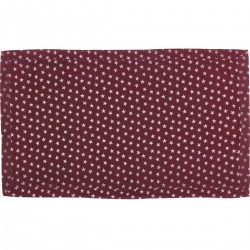 MULTI STAR RED TABLE CLOTH 60X102